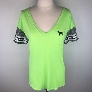 Victoria's Secret PINK Short Sleeve Top Size Small